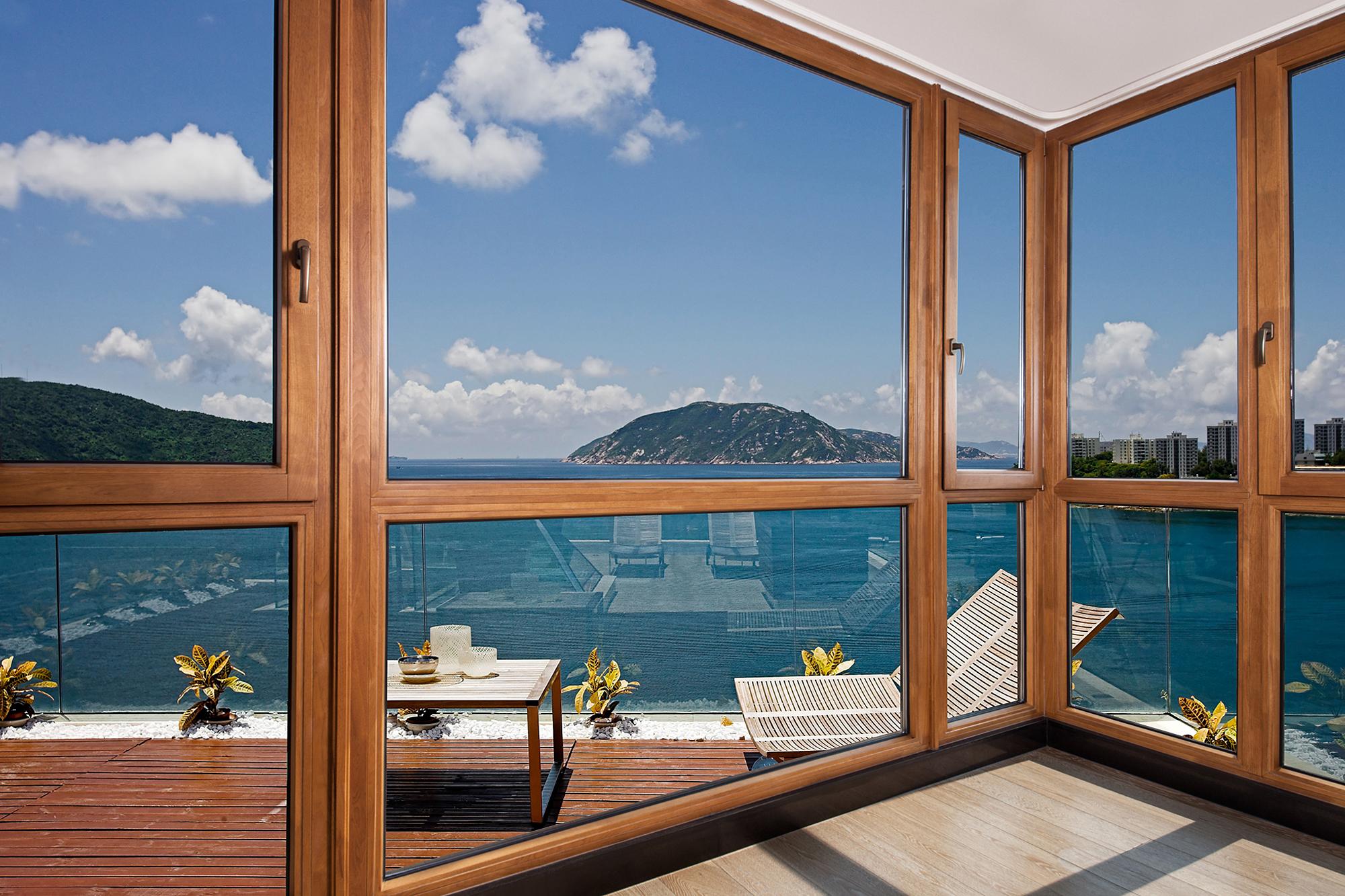 Gutmann系統鋁包木窗