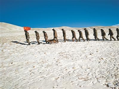 海拔5000米,一家四代16名高原护边员接力护边