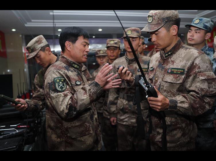 退伍军人许绍坤,开创天波通信战队