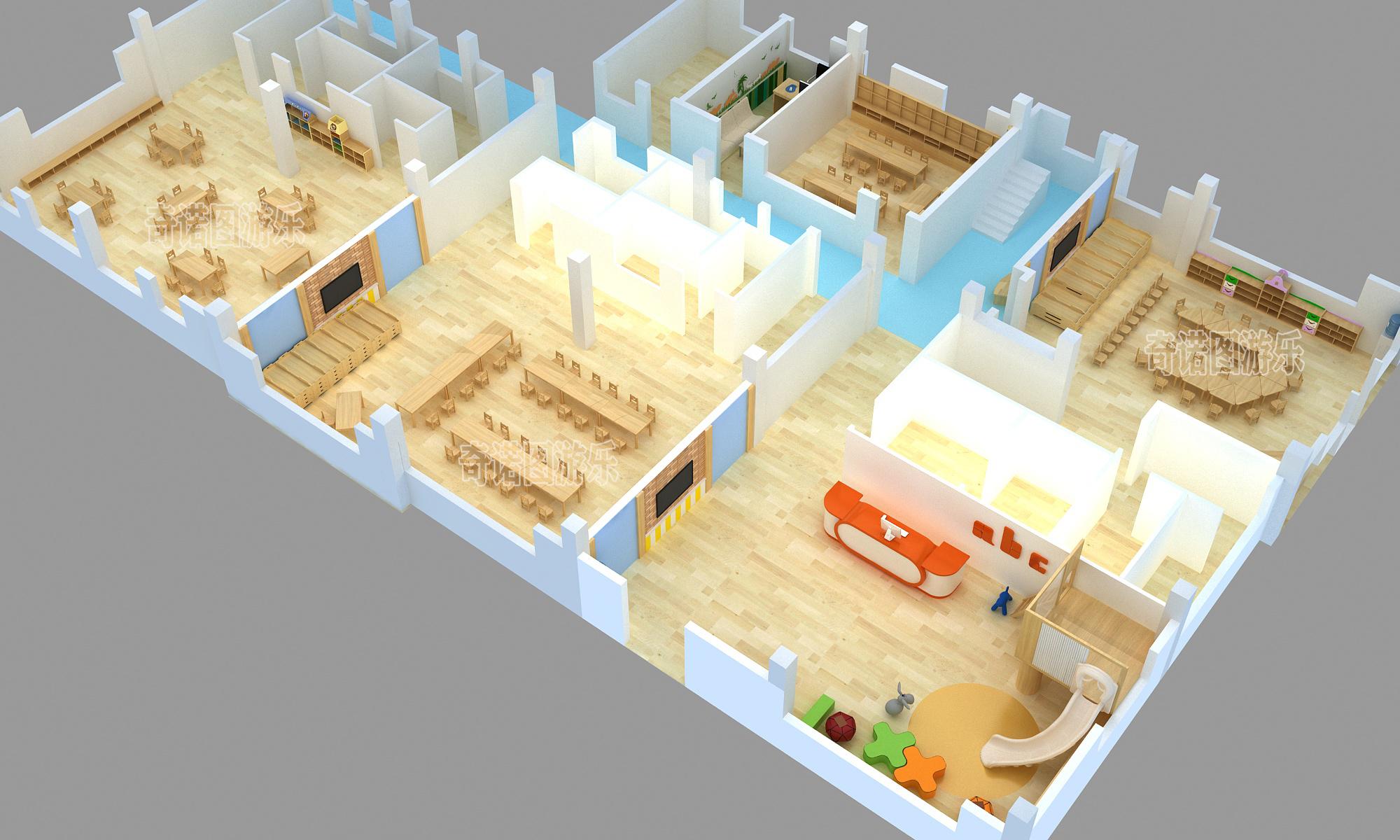 室内游乐场设计