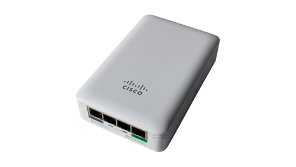 AIR-AP1815w-H-K9    Cisco Aironet 1815 Wall Plate Access Point, Internal antenna, 802.11ac wave-2; 2x2:2 MIMO; BLE