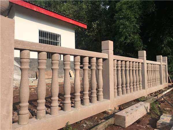 四川花瓶柱石栏杆_成都翰林石材拥有良好口碑