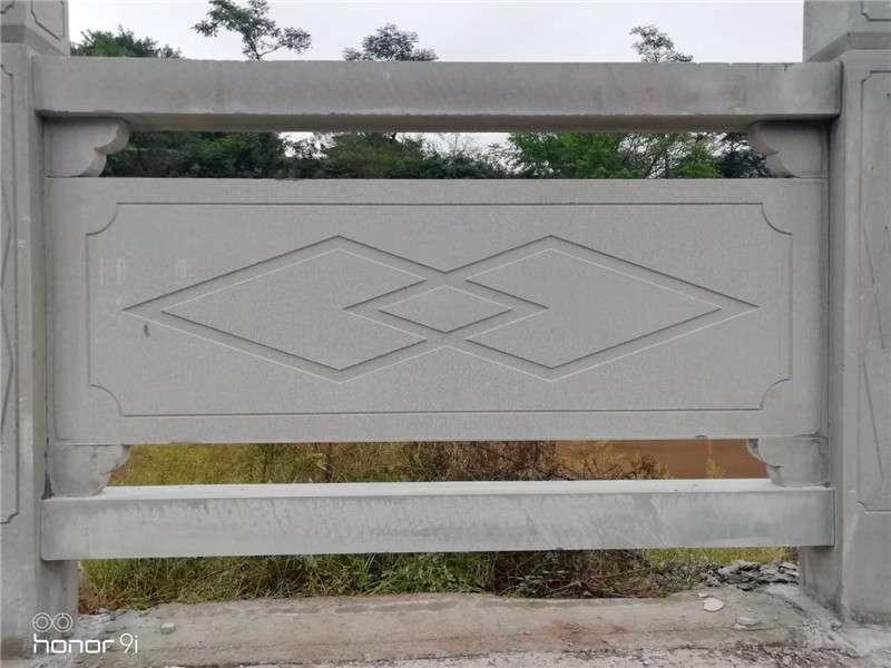 四川菱形线雕石栏杆_成都翰林石材服务至上