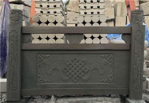 四川青石浮雕栏杆款2_成都翰林石材批发低价价格更优