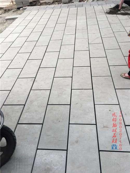 四川青石机切面规格板——成都翰林石材样式齐全