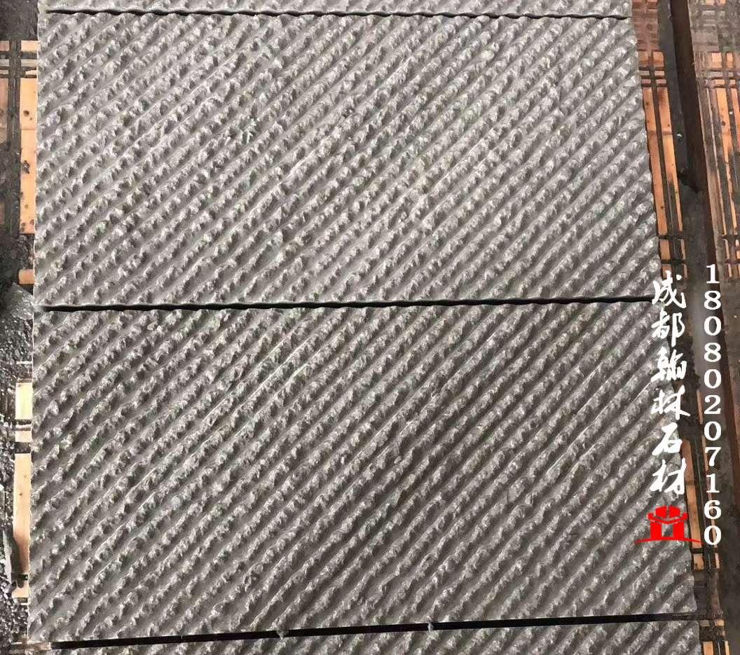 四川青石斜纹錾道面生产厂家