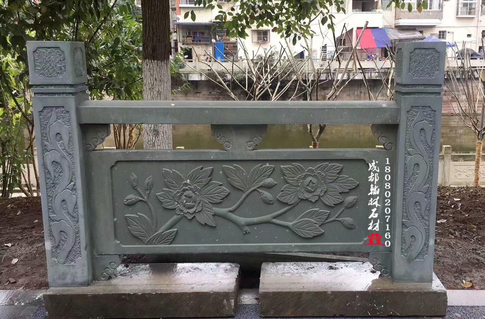 四川青石栏杆厂家价格_翰林石材量大从优