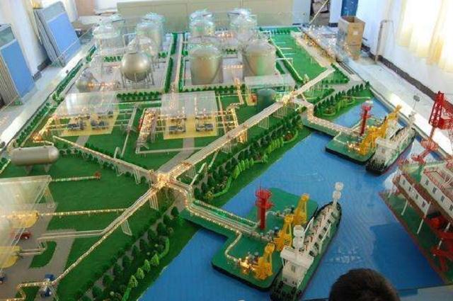 储油库模型的储油库模型