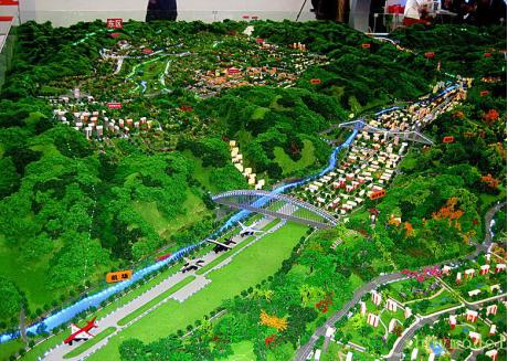上海沙盘模型