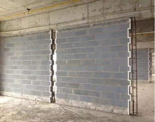 装配式砌块墙
