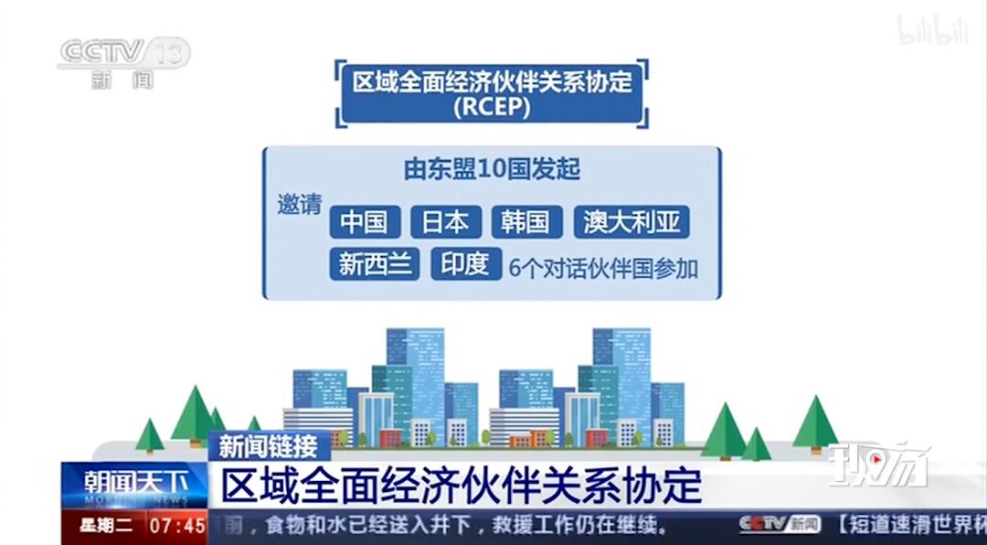 中国加入全球最大自贸区!超90%商品或零关税,影响全球1/3人口、15个国家!