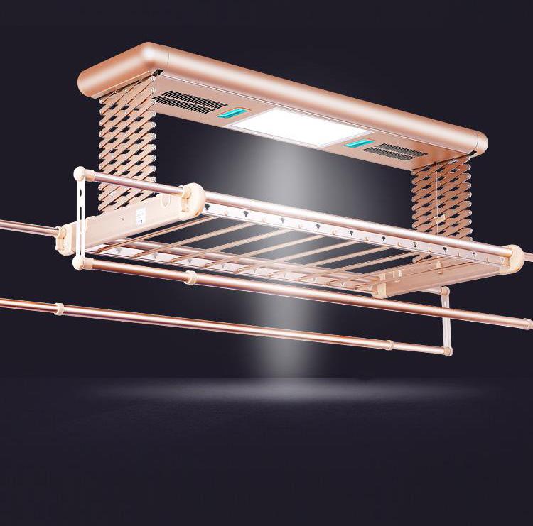 然彬烘干型自动晾衣架升降晾衣架阳台晾衣架伸缩晾衣架智能晾衣架