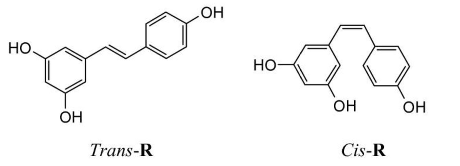 白藜芦醇化学结构