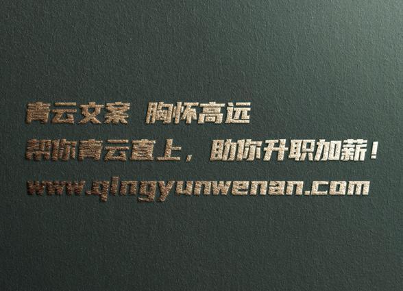 项目计划书_青云文案项目策划
