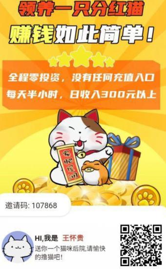 神猫侠侣app邀请图