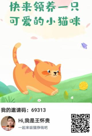 恋猫世界app邀请图